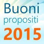 buoni propositi 2015